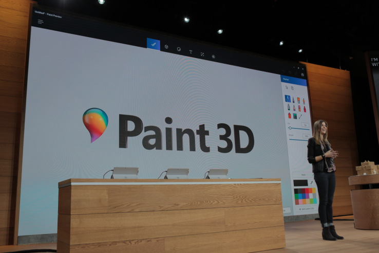 Paint 3D, Windows 10