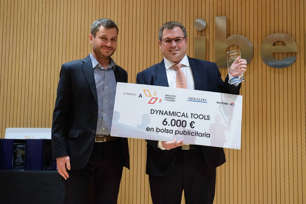 Dynamical Tools recibe premio de Empresa Emprendedora