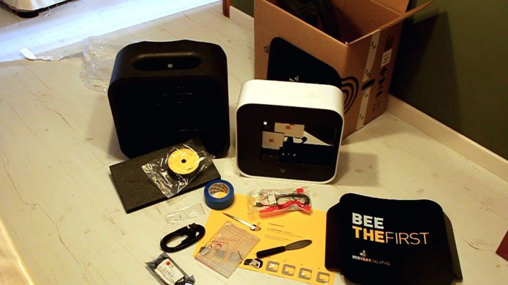 review - impresora 3D BEETHEFIRST