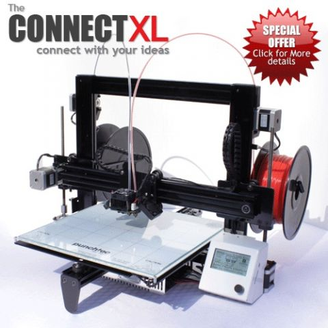 Connect XL  3D printer